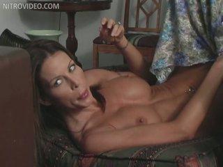 Sexy MILF Tabitha Stevens Masturbating