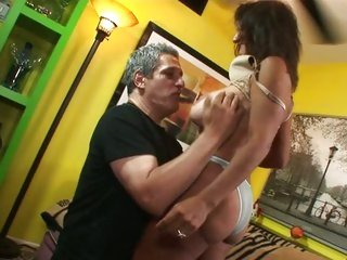 MILF Persia Pele has her curly aperture licked