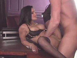 Lisa Ann interviews male talent for her agency