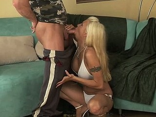 Sex appeal cutie masturbates previous to bouncing on chubby dong
