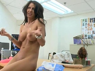 Taking on a huge pecker with her mouth is mother i'd like to fuck forte